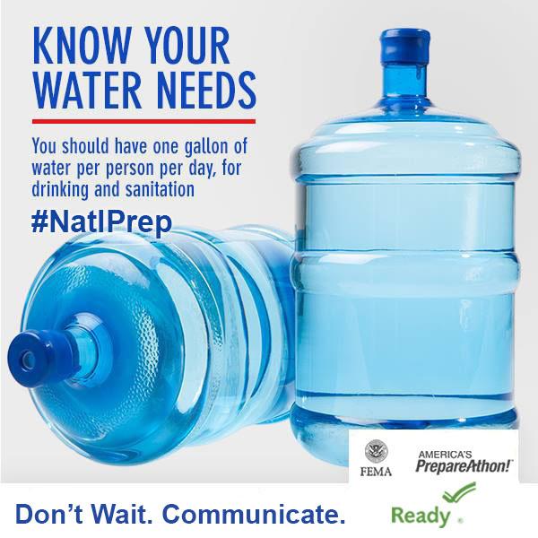 Graphic: National Preparedness Month.
